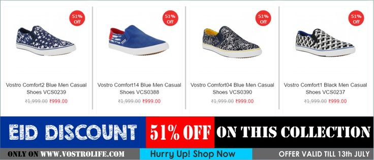 On this EID get heavy discount.  Shop Here: http://vostrolife.com/men/comfort-series  #shoes #shoelover #vostroshoes #onlineshopping #discount #shoedeals #eidmubarak #HappyEid  (1) Vostro Shoes (@vostroshoes) | Twitter
