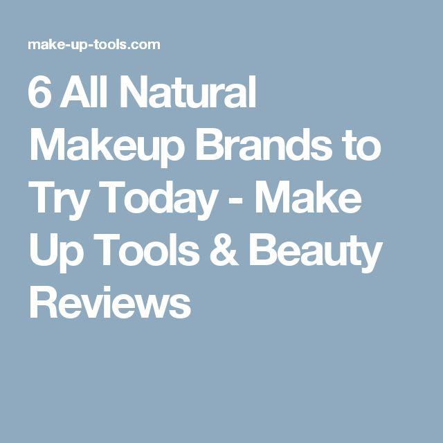 17 Best ideas about Natural Makeup Brands on Pinterest ...