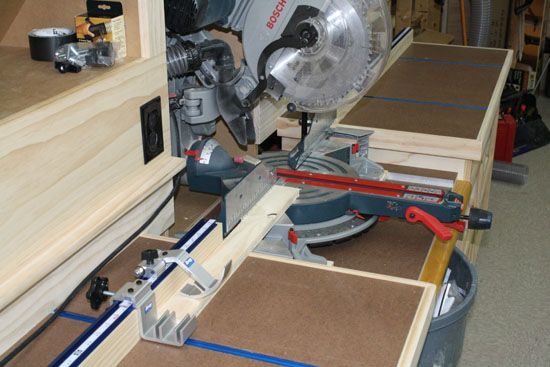 Kreg Precision Trak And Stop System Fence Miter Saw
