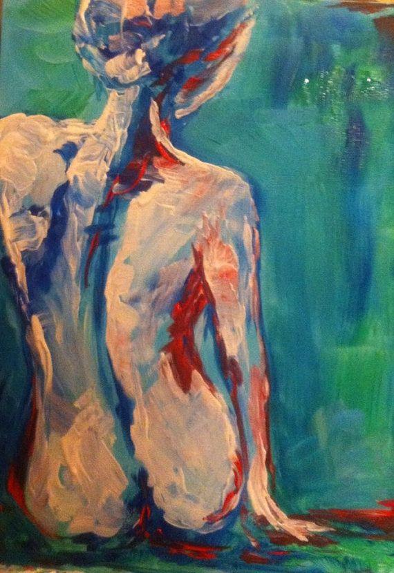 Acrylic Nude