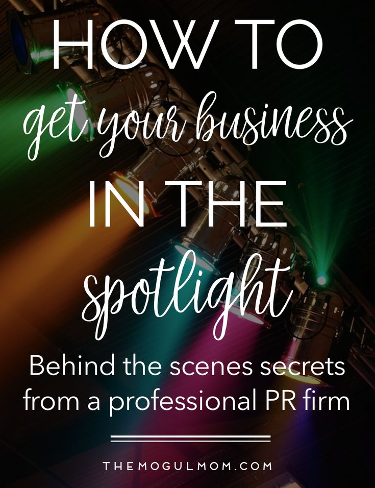 PR Secrets of The Pros. Read all about how to get your business noticed in the media -from the CEO of a public relations firm!