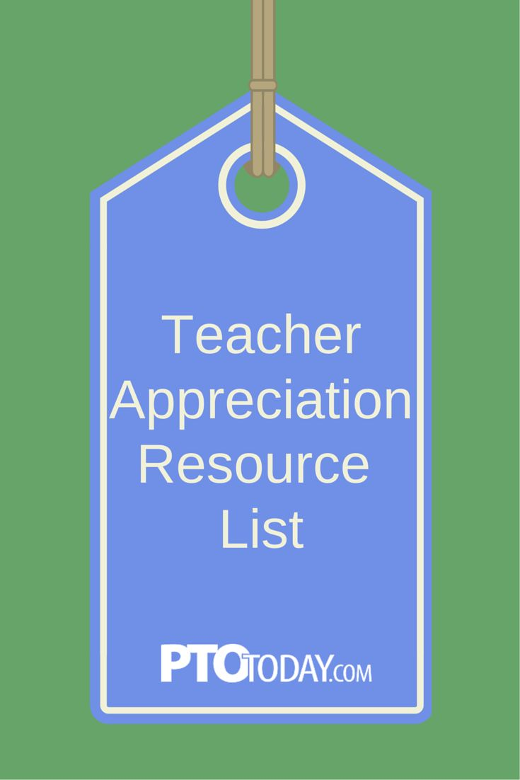 teacher appreciation week 2020 resources