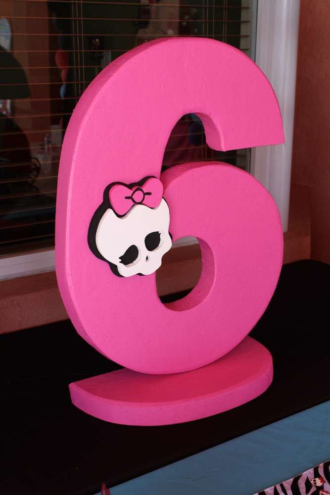 Monster High Birthday Party Ideas | Photo 1 of 85 | Catch My Party