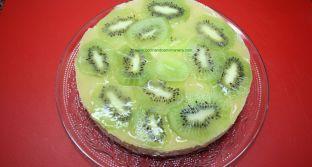 Tarta fresca, sin horno y con frutas de temporada