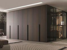 Sectional solid wood wardrobe MILANO | Solid wood wardrobe - MisuraEmme