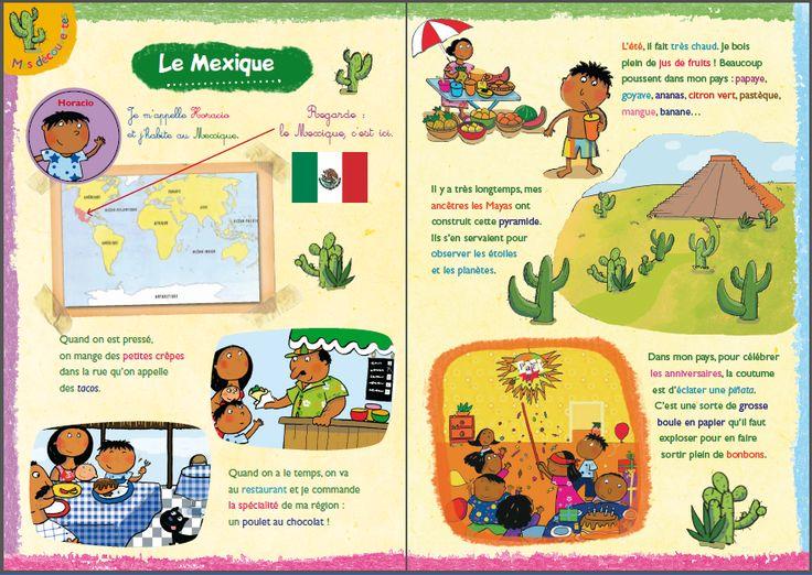 ** ACTIVITÉ ** Direction le Mexique ! ( en français)