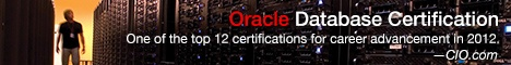 oracle database certification.