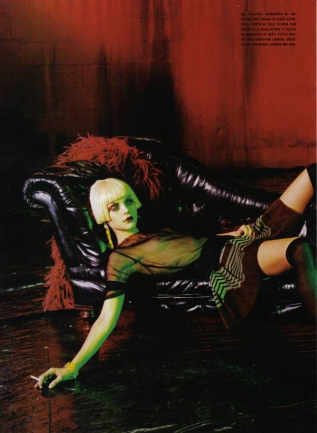 Ravishing Beauties   Peter Lindbergh #photography   Vogue Italia April 2007