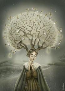 »Это все ветер принес». Катя Малеев.   #helloposter #poster #posters #art #modernart #printart #illustrators #illustration