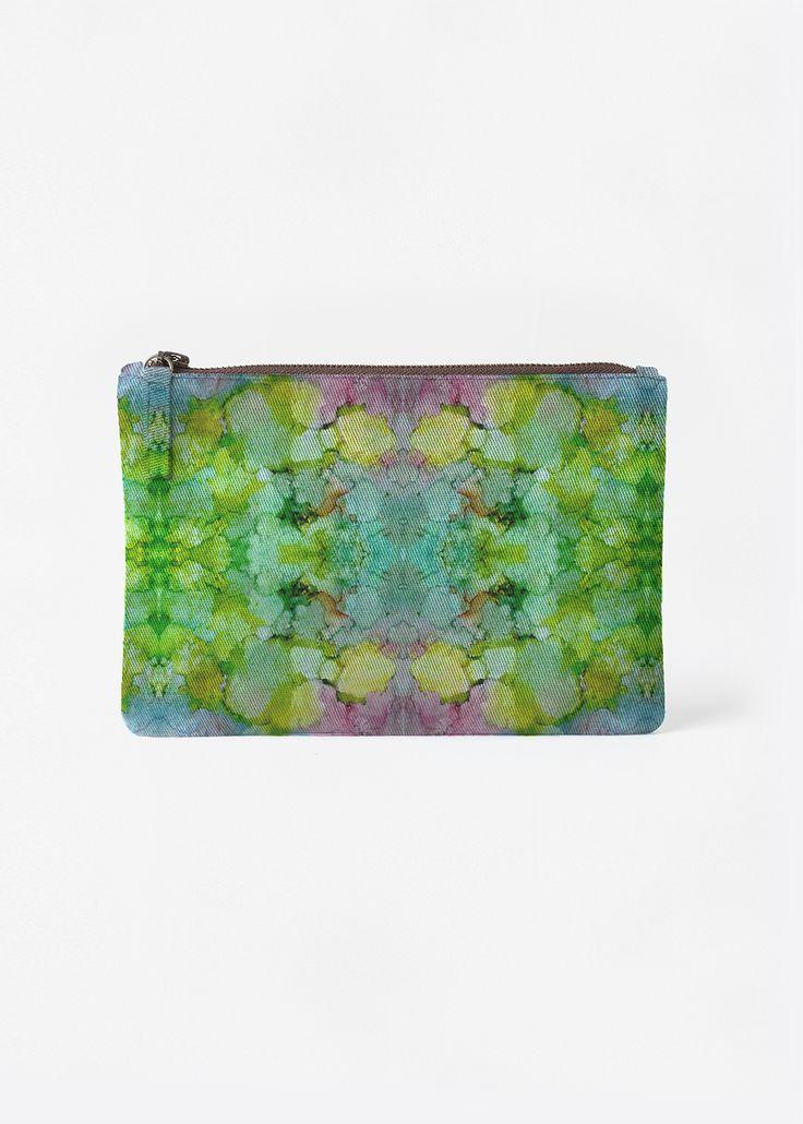 VIDA Foldaway Tote - Abstract Color Splash 48 by VIDA f1vOW