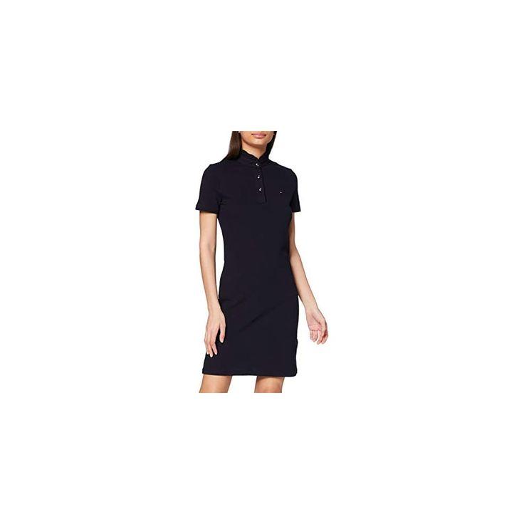 Tommy Hilfiger Maya Slim Frill Polo Dress Robe Femme