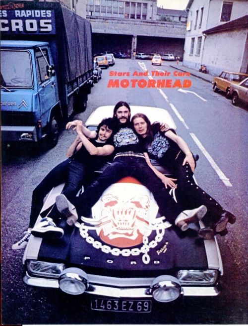 Motorhead - Stars & Their Cars   #Motorhead #Quiz #No Sleep