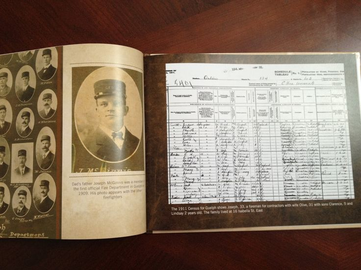 Creating a Family History Story Book