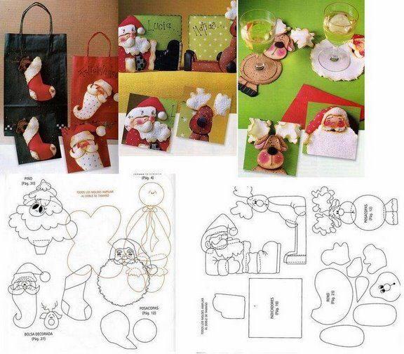Mueble Joyero Ikea ~ FELTRO MOLDES ARTESANATO EM GERAL Ornaments ideas, Crafts and Patrones