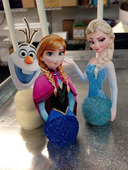 Frozen Printable for Cake Pops #frozen #cakepops