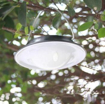 US $7.68 Luzes LED solares para ar livre à prova d'água movidas a energia Solar