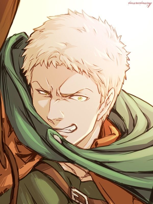 Reiner Braun. Traitor #3 << Idk but I think of a snarling wolf when I look at this e.e