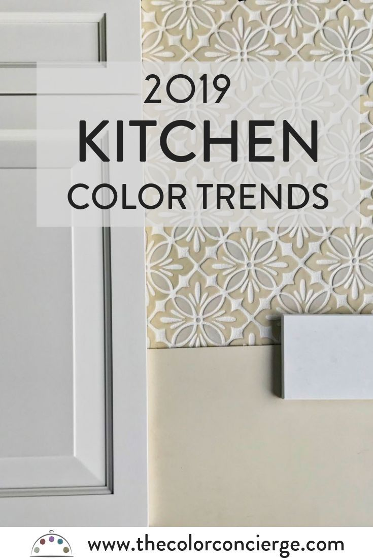 Top Kitchen Color Trends for 2019 | Kitchen color trends ...
