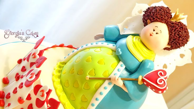 Regina di Cuori - Queen of hearts Cake