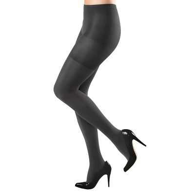 Assets by Sara Blakely a Spanx Women's Original Shaping Tights 158B - Black 3