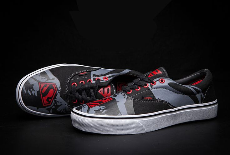 Vans Superman DC Comics Superhero Era Skate Shoes #Vans