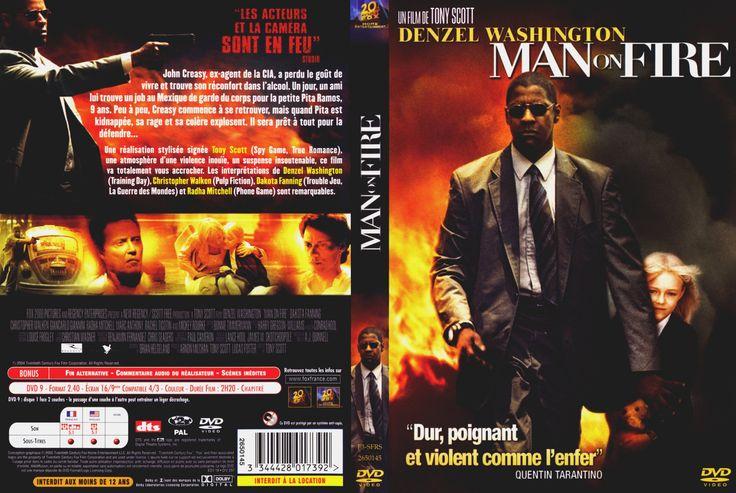 MAN ON FIRE DVD   Jaquette DVD de Man on fire - Cinéma Passion