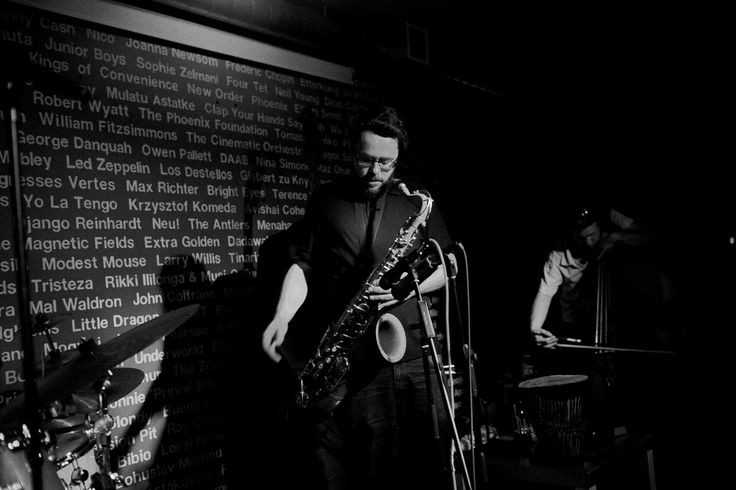 "Erase - album ""new and old dreams"" - recorded in 2012 in Warsaw.   Erase Quartet  Michał Trela – drums Gerard Lebik- saxophone Max Mucha – bass Jakub Mielcarek – bass jazz band, jazz music Photo by Marta Rybicka"