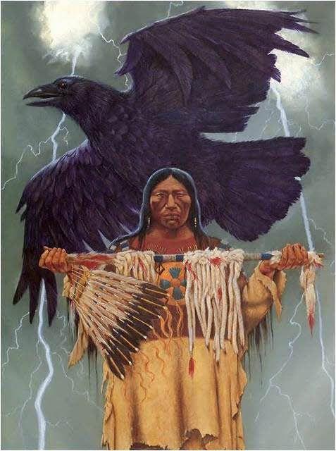 Native American power animal.