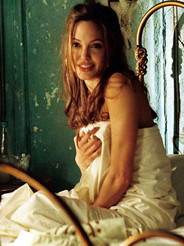 Angelina Jolie in Mr And Mrs Smith.