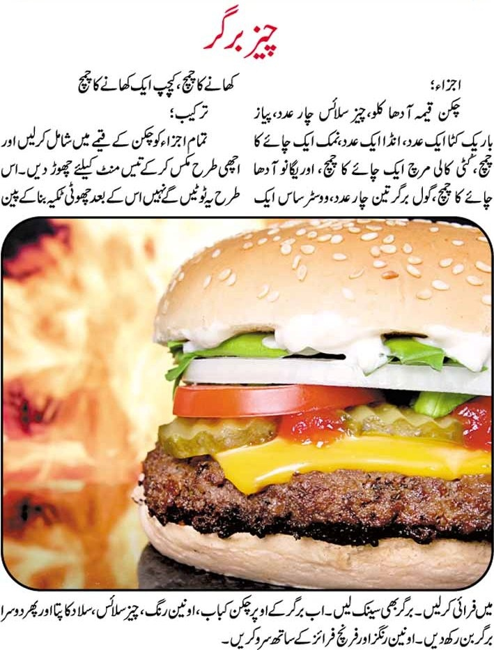 chicken burger recipe in urdu by chef zakir kitchen