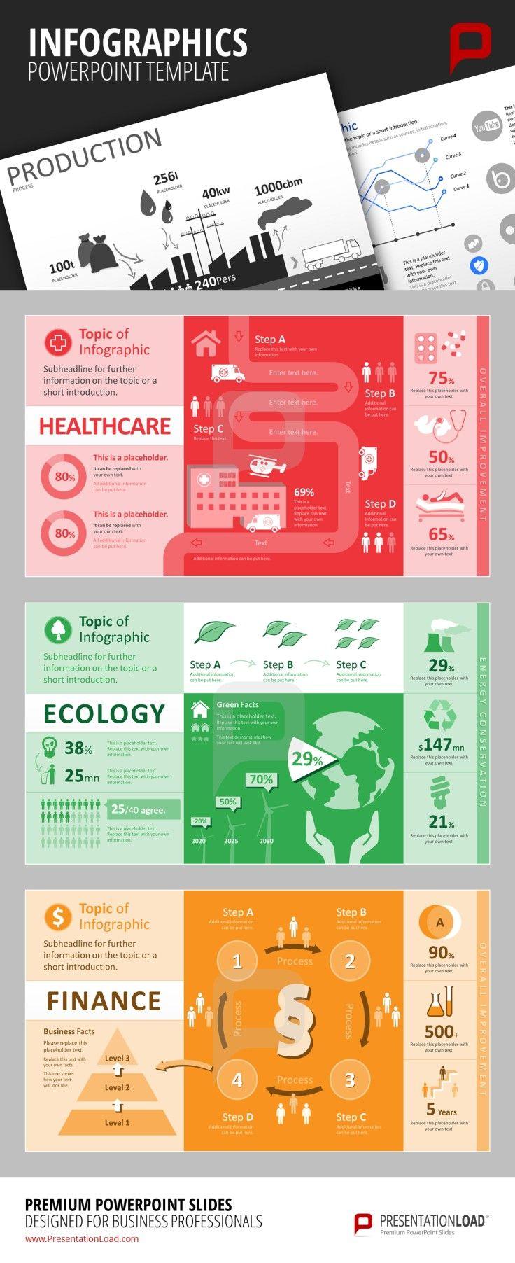 Infografiken Vorlagen für PowerPoint http://www.presentationload.de/powerpoint-charts-diagramme/infografiken/