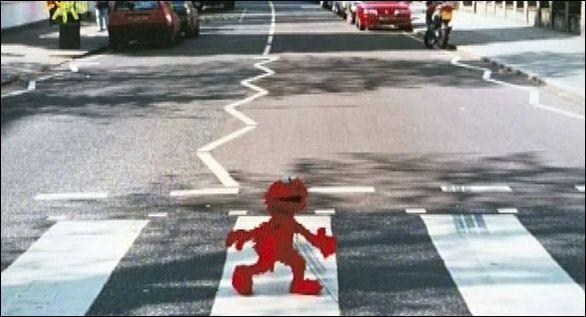 """Elmoabbeyrd The Beatles Abbey  Road """"It's kinda cute!!!!!"""""""