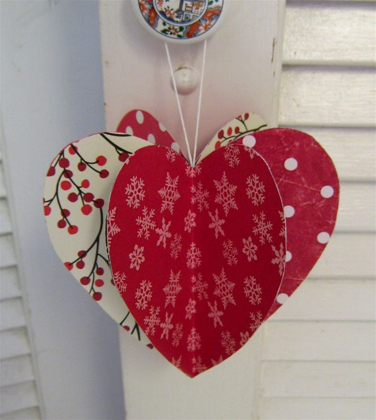5 daughters simple valentine crafts galore this would work on a budgetcut out 6 hearts or so and decorate them with pink red and white valentine things