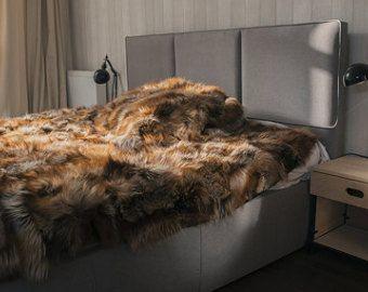 Crystal Fox King Size Blanket