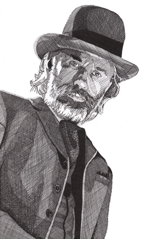 "Christoph Waltz as Dr. King Schultz in ""Django Unchained"" by Rik Reimert - http://rikreimert.com/"