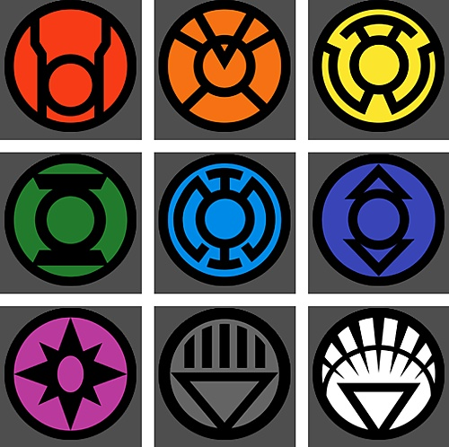 Lantern Corps Blanket