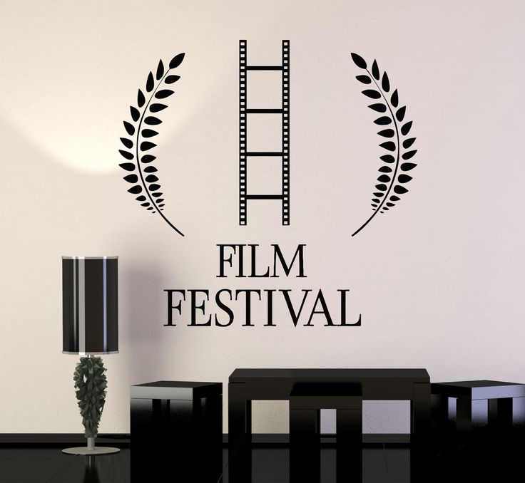 Vinyl Wall Decal Film Festival Cinema Movie Stickers Mural (153ig)