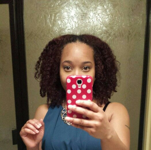 3 C 4 a hair type natural my first good attempt at a twist out I like it