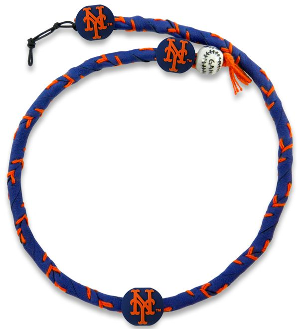 New York Mets Team Color Frozen Rope Baseball Necklace Z157-4421404210