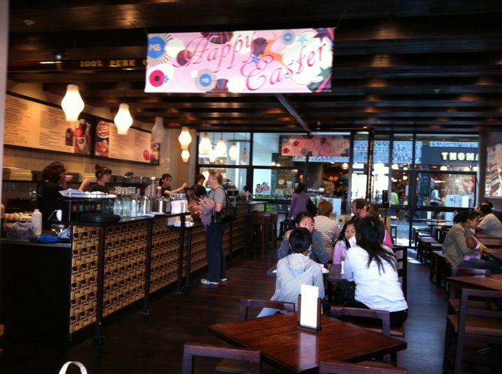 Max Brenner Chocolate Bar in Glen Waverley - The Glen Shopping Centre!