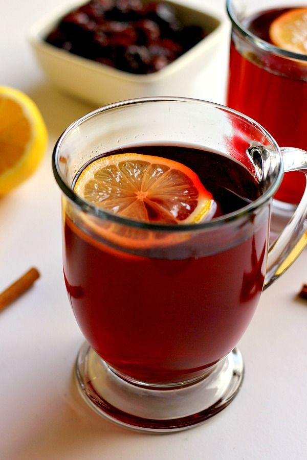 Slow Cooker Cranberry Spice Tea | www.pumpkinnspice.com