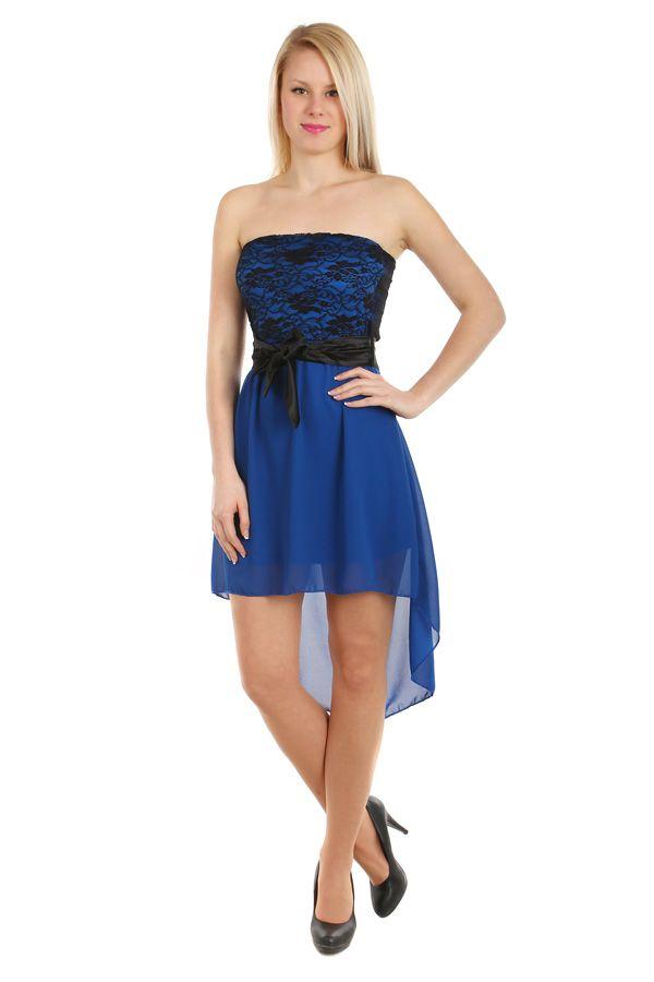 65a747f34dd4 Šifonové šaty s krajkovým vrškem - koupit online na Glara.cz  damskesaty   dámskéšaty