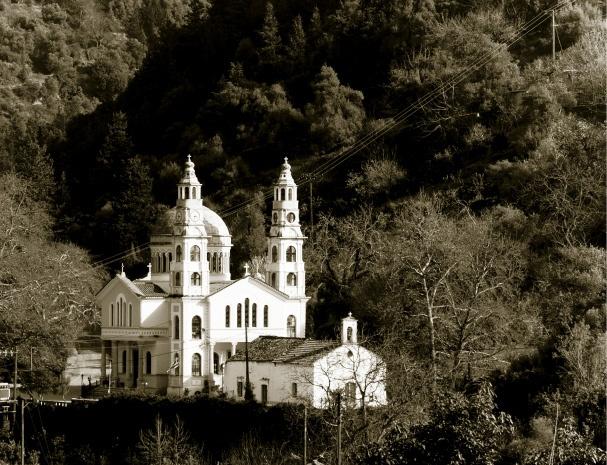 Μεσκλά Χανίων: Οι Εκκλησίες της Παναγίας  Meskla Chania: The Churches of Holy Mary    Crete