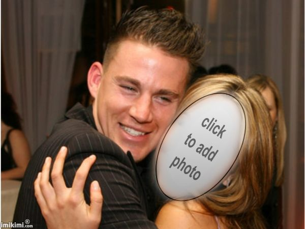 channing tatum face cut out. Click through to add your photo.   #silly  #photo #fun