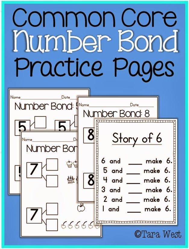 Addition in Kindergarten...number bonds {freebies!}