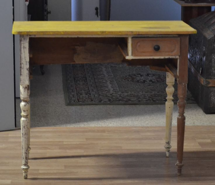 Taller de restauraci n lila mesa escritorio restaurado en - Mesa de taller ...