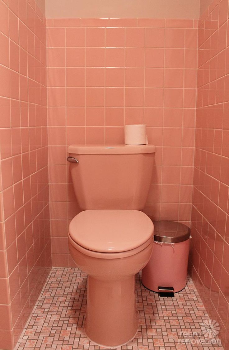 12 reasons i love my new retro pink bathroom   kate's pink ...