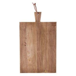 Wooden serving/cutting board 50x30x2cm JK3