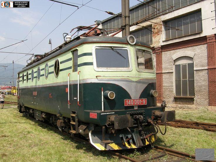 Электровоз 140.001-9 =Бoбинa= (II). Депо Врутки, Словакия