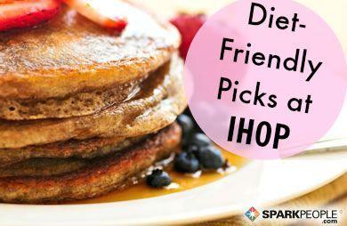 Diet Friendly Dining: IHOP Restaurant via @SparkPeople